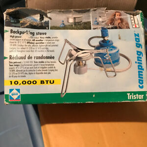 Tristar Camping Gaz Backpacking stove and lamp