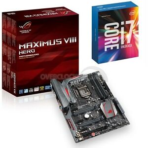 Asus Maximus VIII Hero-Skylake i7 6700K CPU & Motherboard Bundle