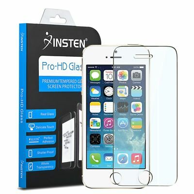 INSTEN Real Tempered Glass Screen Protector For iPhone 6/6S/7/Plus/5/5S/SE/5C