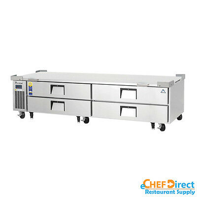 Everest Ecb96d4 96 Four Drawer Chef Base