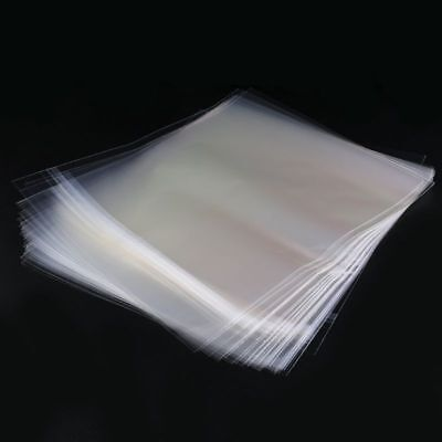 50 Resealable 4 Mil Vinyl Plastic Record Outer Sleeves For 12