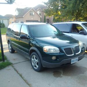 2005 Pontiac Montana Minivan, Van for Sale or Parts $900