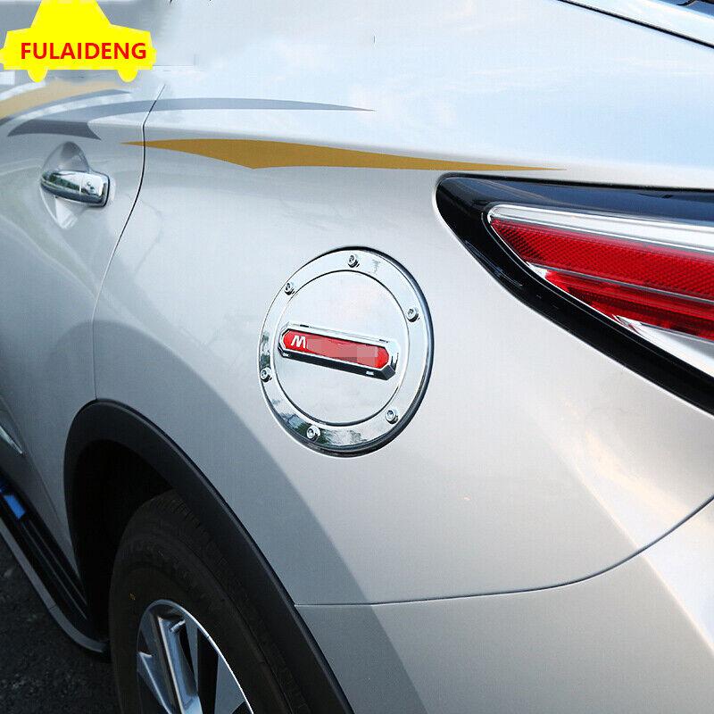 ABS Chrome Fuel tank cover oil gas cap trim For Nissan Murano 2015-2018