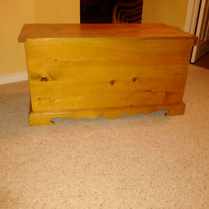 Solid Cedar Trunk/Chest