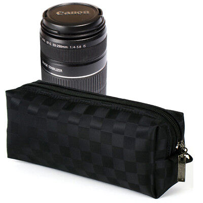 Burnoaa Memory Foam Lens Pouch Bag JC for Canon EF-S 18-55mm IS 55-250mm Zoom