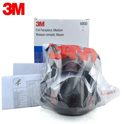 3m 6800 Full Face Respirator Size Medium 3m Full Face Gas Mask Medium