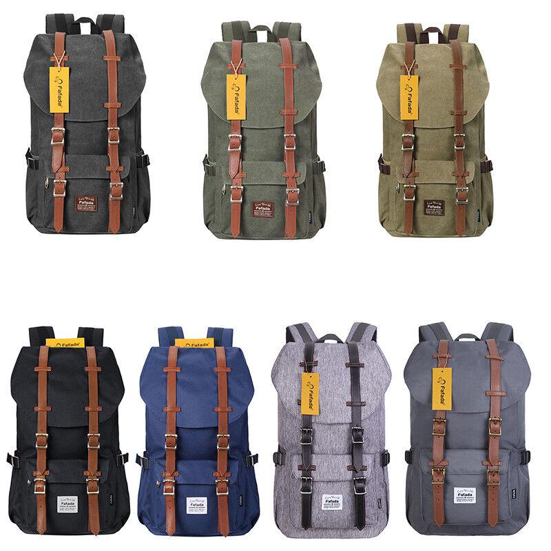 Rucksack Damen Herren 17 15.6 zoll Laptop Rucksack Student Backpack für Camping
