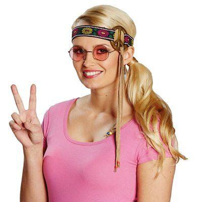 RUB 6140816 Peace Stirnband Hippie 70er Jahre Karneval Damen Kostüm Zubehör