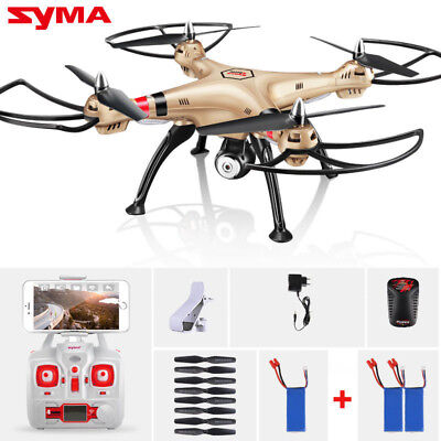 RC Drone Quadcopter 2.4G 6-Axis SYMA X8HW Wifi Camera FPV High Hover Aircraft