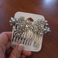 Wedding Jewellery-$45.00 for 2 set of earrings and head piece