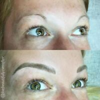 MAKE YOUR BROWS PERFECT WITH MICROBLADING & OMBRE BROWS!!$325