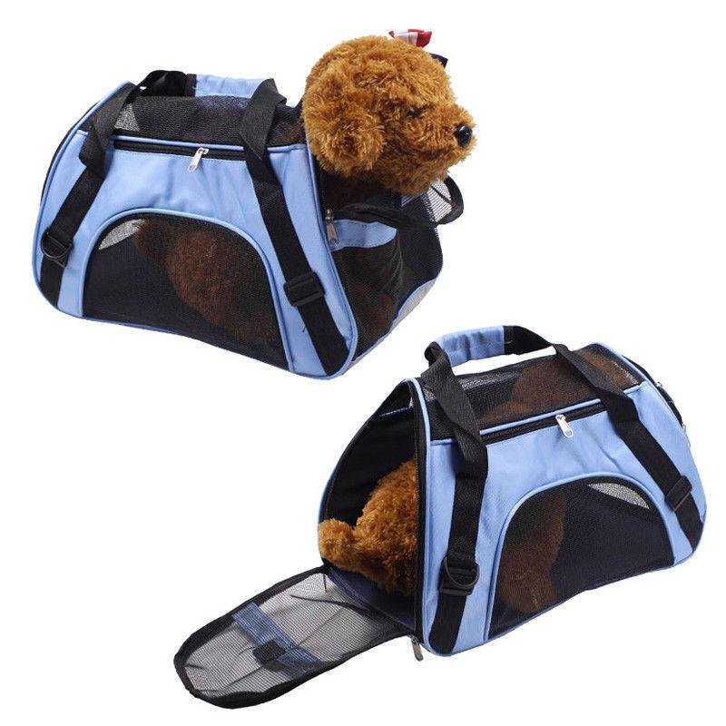 Tragbare Hundetasche Tragetasche / Umhängetasche Camping Reise Haustier Tasche