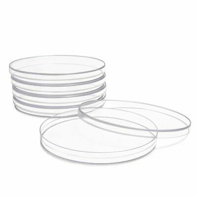 10 Pack 4 Plastic Petri Dishes With Lid For School Science Fair Project Party