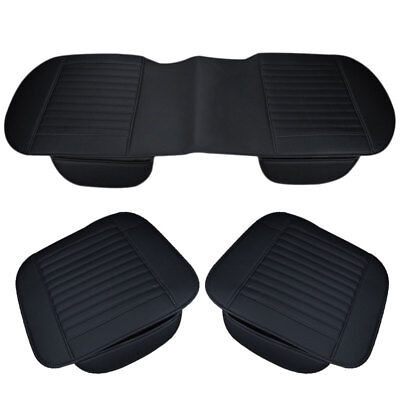 Auto Car PU Leather Chair Cover Universal Breathable Pad Mat Seat Cushion Cover