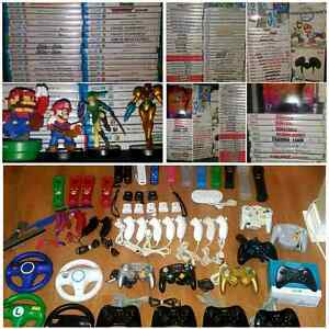 NINTENDO Wii  / Wii U GAMES / JEUX / ACCESSORIES