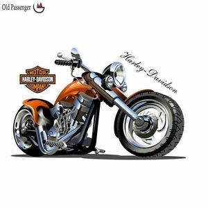 Harley Davidson 3D wall decal- Brand New