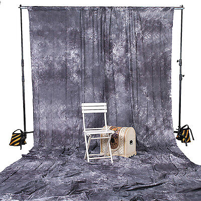 10X20 Gray Backdrop Muslin Photo Background Photography Grey Studio Cloth NEW