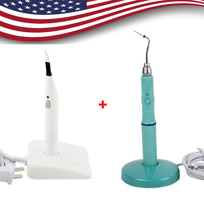 Dental Cordless Gutta Percha Obturation System Endo Heated Pen Gum Cuttertips