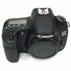 Canon 60d Body and extra Battery,Charger,Box,Books,cds Cords