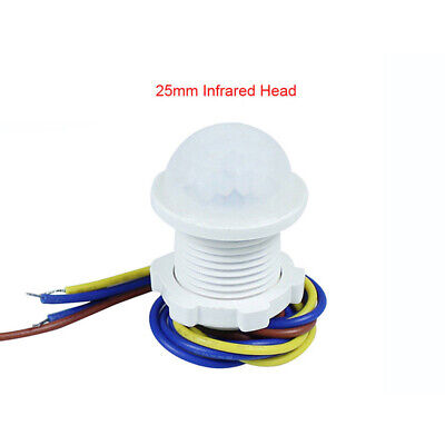 Movimiento Interruptor Sensor 110/220V Exterior Pir Detector Infrarrojo Cuerpo