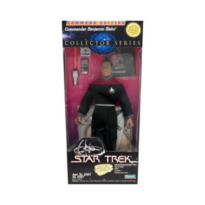 "Star Trek 9"" Commander Edition Benjamin Sisko Action Figure"
