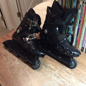 Cheetah girl's roller blades for sale!!
