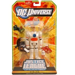 DC Universe Justice League Unlimited STRIPE Collector edition