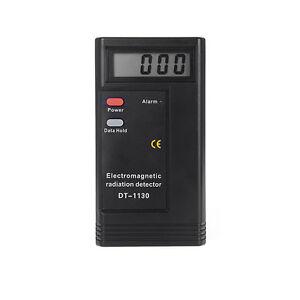 Hot Digital LCD Electromagnetic Radiation Detector EMF Meter Dosimeter Tester UK