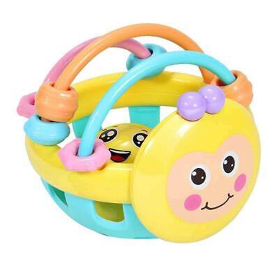 Baby Einstein Bendy Ball Toddler/Kid Multicolour Fun Activity Toy With Rattle LA Einstein Ball