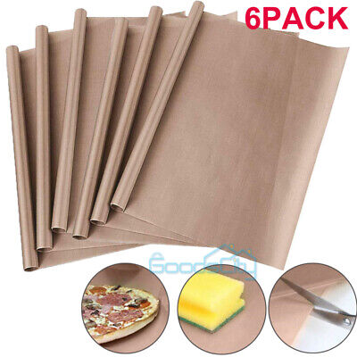6pack Teflon Sheet For Heat Press Transfer Non Stick 16 X 24 Craft Mats Brown