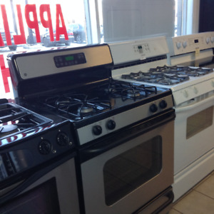 GAS RANGES - ASSORTED STOCK - 1 YEAR WARRANTY - 16665 111 AVE