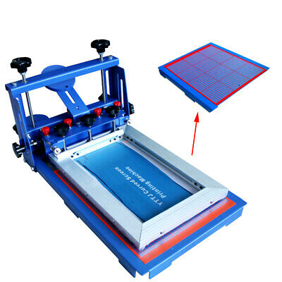 Desktop 1 Color Micro-registration Screen Printing Machine Silk Press Printer