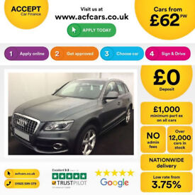 Audi Q5 S Line FROM £62 PER WEEK!