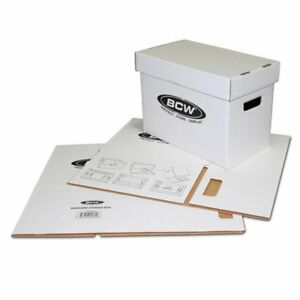 5 BCW Magazine Boxes Storage Box