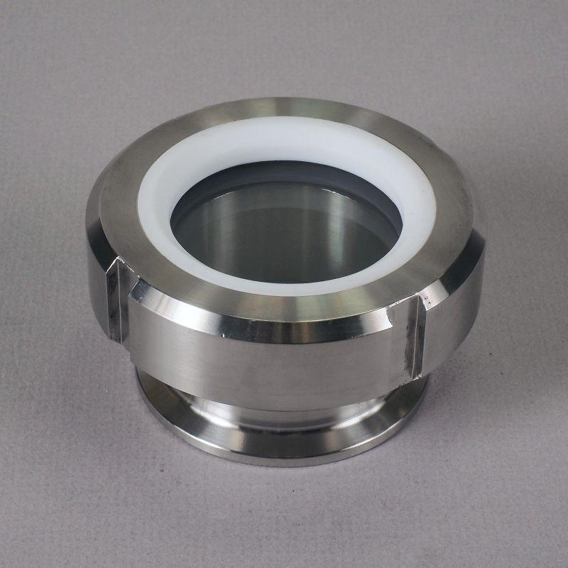 Tank Sight Glass | Tri Clamp 2 inch/FKM/PTFE - Sanitary