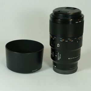 Sony FE 90mm Macro f2.8 G OSS excellente condition