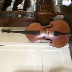 '30s German Double Bass (plywood)