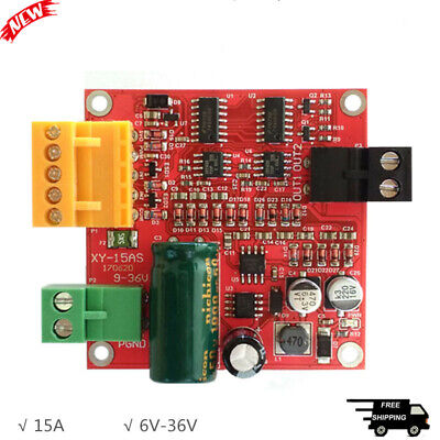 15a High Power Dc Motor Driver Board Industrial Grade Cw Ccw Pwm Speed Control