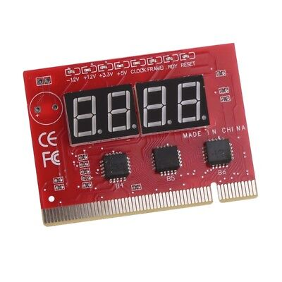 Computer PCI POST Card Motherboard 4-Digit LED Diagnostic Test PC Analyzer ()