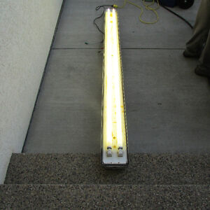 8 Foot Two Lamp Cold Start Fluorescent Fixture