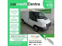 White Ford Transit Van 2.2TDCi 280M Low Roof 280 MWB ***FROM £140 PER MONTH***