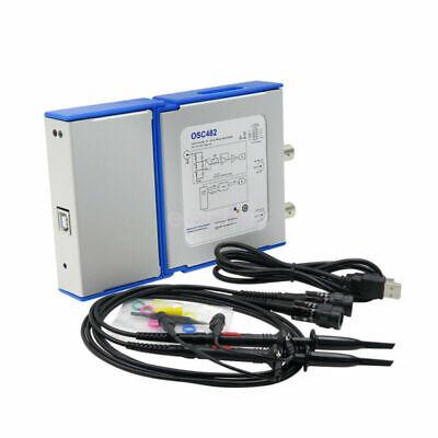 Pc-based Usb Virtual Digital Oscilloscope 2 Channels 50msas Bandwidth 20mhz