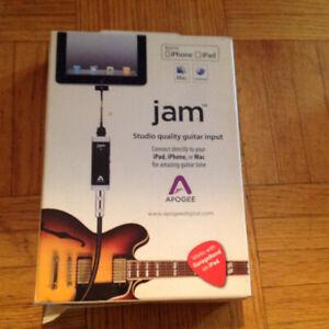 Apogee JAM GUITAR INPUT FOR MAC,IPAD,IPHONE - Best offer!