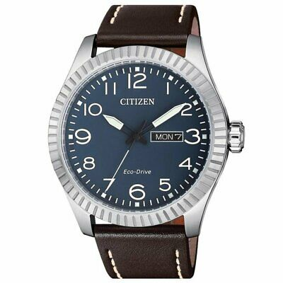 Citizen Eco-Drive Men's Blue Dial Calendar Window 42mm Watch BM8530-11L