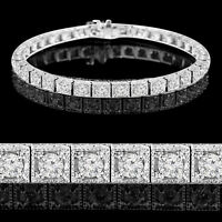 Bracelet en Diamants 3.60CTW 14k Gold Diamonds Tennis Bracelet