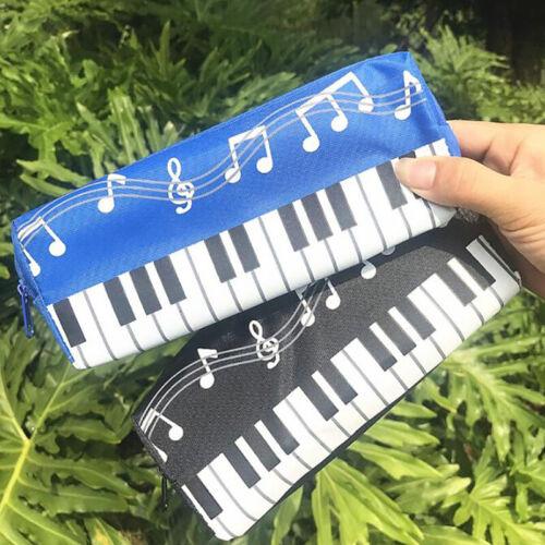 Boys Girls Kid Pen Bag Simple Zip Pouch Purse Pencil Case To