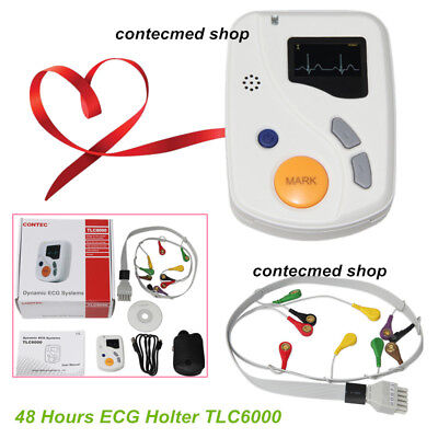 Dynamic 12 Lead Ecgekg System 48 Hours Recorder Analysis Free Software Holter