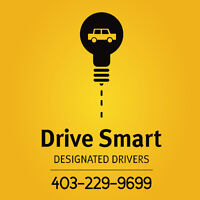 DRIVE SMART DESIGNATED DRIVERS- Drivers Needed
