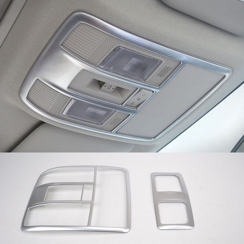 FIT FOR 2014 MAZDA 6 ATENZA CHROME ROOF MAP READING LIGHT LAMP PANEL TRIM COVER