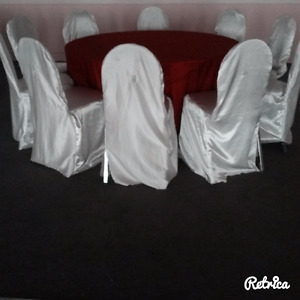 A Variety of Gently Used Chair Covers For Sale!